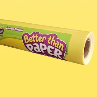 Better Than Paper Bulletin Board Roll  Lemon Yellow