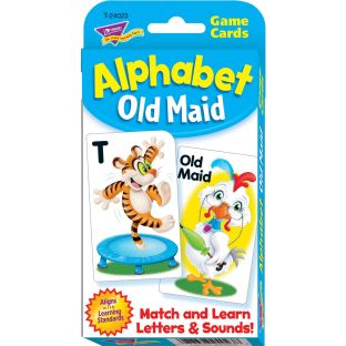 Alphabet Old Maid Challenge Cards