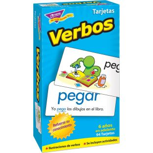 Verbos (Spanish) Skill Drill Flash Cards - 94 cards