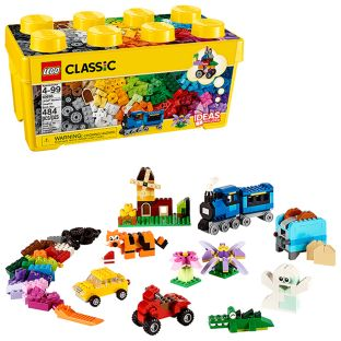 LEGO Medium Creative Brick Box - 484-piece set