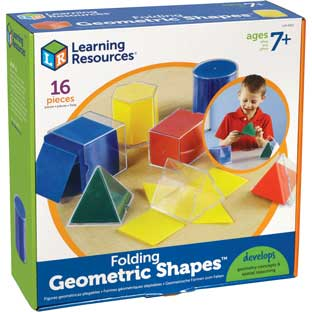 The Original Folding Geometric Shapes - 1 shape set