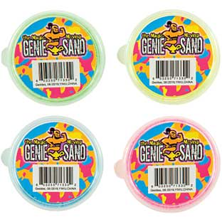 Magic Genie Moving Sand - 24 pack