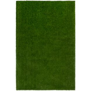 GreenSpace Artificial Grass Area Rug  4' By 6'  Rectangle