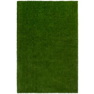 GreenSpace Artificial Grass Area Rug  6' By 9'  Rectangle