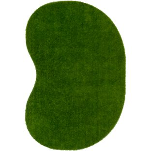Greenspace Artificial Grass Area Rug  6' By 9'  Jellybean - 1 rug