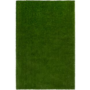 GreenSpace Artificial Grass Area Rug  12' By 9'  Rectangle