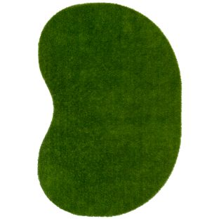 Greenspace Artificial Grass Area Rug  12' By 9'  Jellybean
