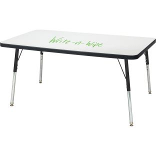 "Berries Rectangle Dry Erase Table  36"" By 24"""