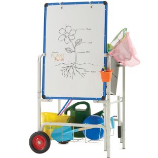Outdoor/Indoor Learning Center - 1 teaching cart