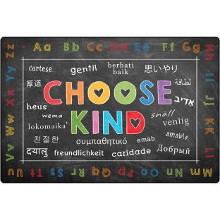 Choose Kind Rug 4' X 6'