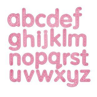 Silishapes Trace Alphabet - 26 silicone letters