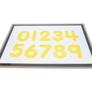 Silishapes Trace Numbers, 09 - 10 silicone numbers