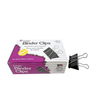 """Binder Clips-Large 1"""" Capacity"""