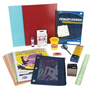 Individual Student Supplies Kit  Elementary - 1 multi-item kit