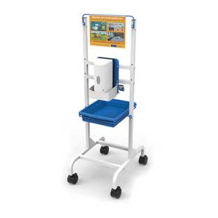 Single Student Hand Sanitizer Station - Base Model - 1 station