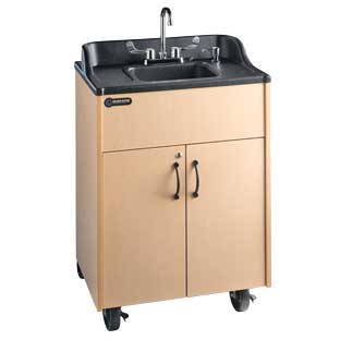 Ozark River Portable Hot Water Sink with ABS Top and Basin - 1 portable sink