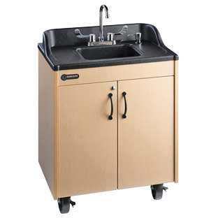 Ozark River Lil' Portable Hot Water Sink with ABS Top and Basin - 1 portable sink
