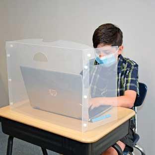 Personal Space  Desk Barrier - Pre-K-Elementary - 1 divider