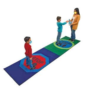 Sanitize Here Carpet Runner 3' x 12'