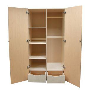Wood Teacher's Storage Cabinet