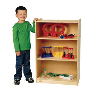 Value Line™ Birch 3-Shelf Narrow Storage