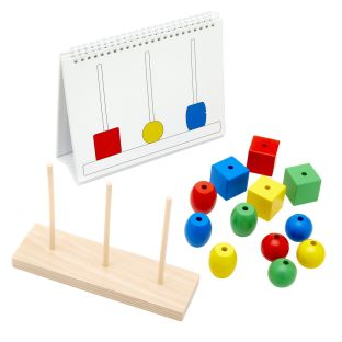 Build the Tower - Color and Shape Recognition Activity