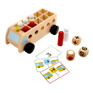 Mathematic Bus - Addition and Subtraction Game