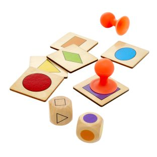 Stick the Shape - Color and Shape Identification Game