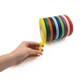 """1/2"""" Colored Masking Tape, Set of 10"""
