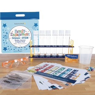Family Engagement Science/STEM - Wonder, Discover and Explore Pack: Mad Scientist Laboratory