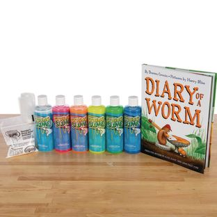 StoryTime Science™ - Diary Of A Worm Book And Kit By Steve Spangler Science™ - 1 multi-item kit