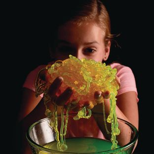 String Slime™ Glow In The Dark Atomic Glow™- 32 oz.