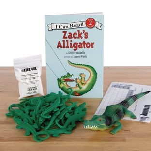 StoryTime Science™ - Zack's Alligator Book And Kit By Steve Spangler Science™ - 1 multi-item kit