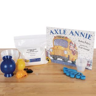 StoryTime Science™ - Axle Annie Book And Kit By Steve Spangler Science™ - 1 multi-item kit