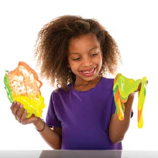 Slime Art - 3 Pack - (Yellow, Orange, Green)
