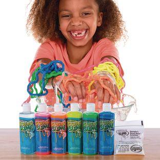 Rainbow String Slime™ - 6 Colors