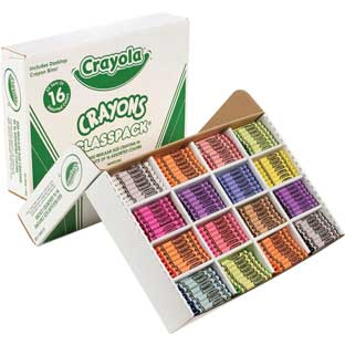 Crayola® 800-ct. Regular Size Crayons Classpack®