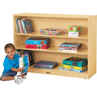 Jonti-Craft® Super-Sized Adjustable Bookcase - 1 bookcase