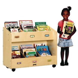 Jonti-Craft® Mobile Book Organizer - 6-Section