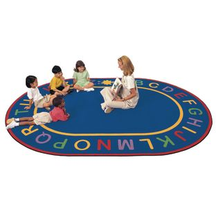 "Alpha Rugs - Oval 8'3""x 11'8"""