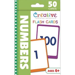 Flash Card - Numbers - 50 cards