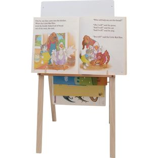 Hardwood Big Book Easel