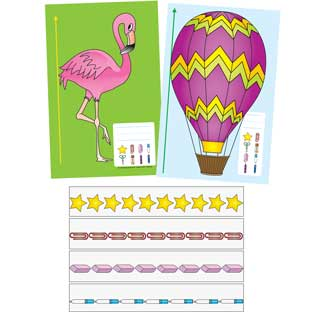 Non-Standard Units Of Measure Activity Cards - 16-piece kit