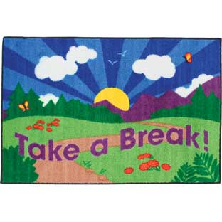 Take A Break! Rug - 1 rug