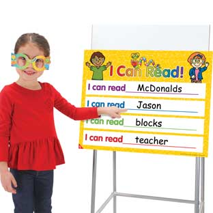 I Can Read! Poster And Glasses Kit