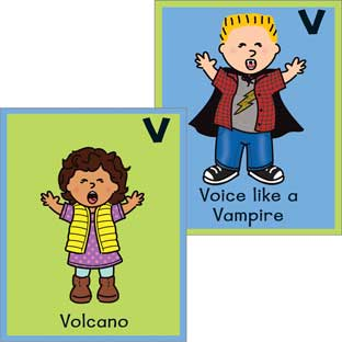 Voices And Brain Break Cards