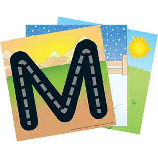 Drive The Letters Cards - 27-piece kit