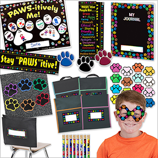 Paw Prints Classroom Bundle