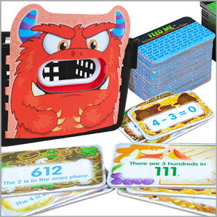 Feed Me Games - Math Pack