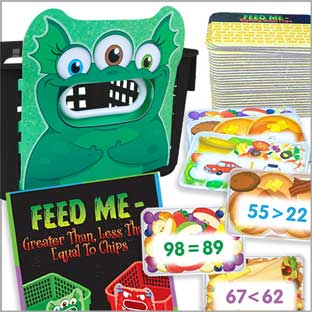 Feed Me Math and ELA Combo Pack